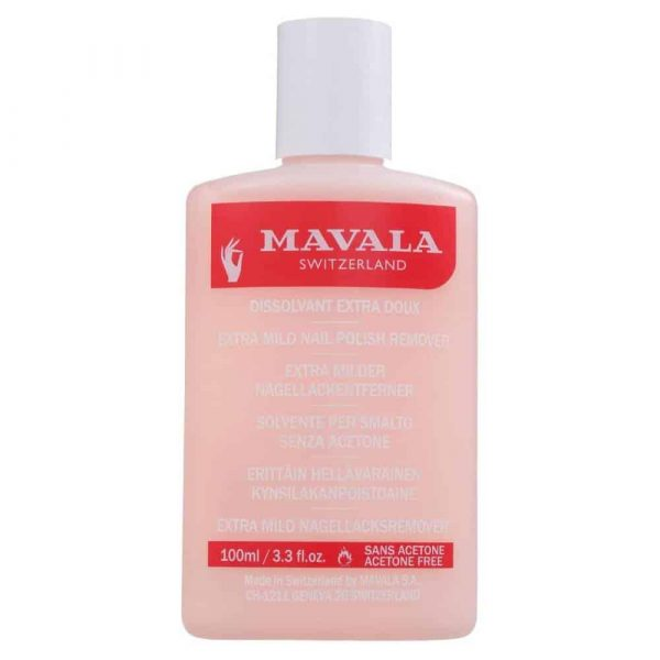 Nail Enamel Remover (Pink Plastic) 100ml