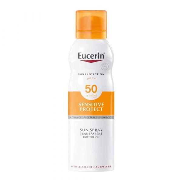 Sun Spray Transparent Dry Touch Sensitive Protect SPF 50 200ml