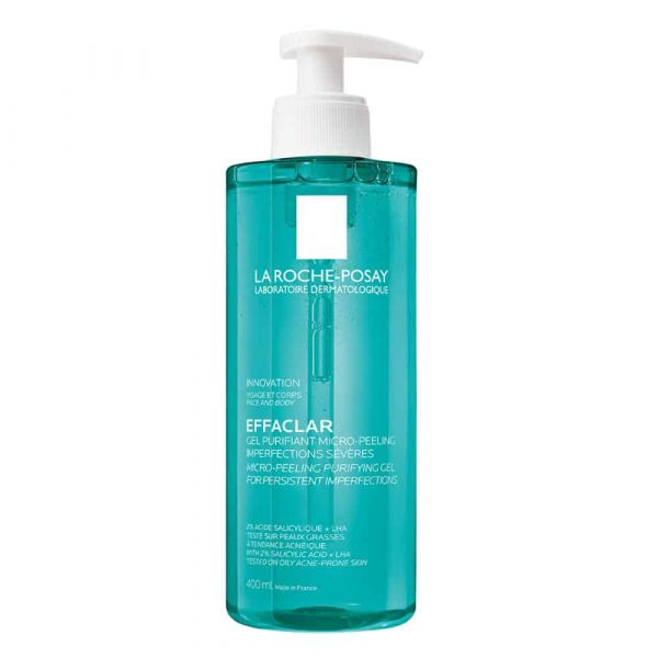 Effaclar Micro-Peeling Purifying Gel Wash 400ml